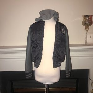 H & M Boy's Bomber Letterman's Jacket